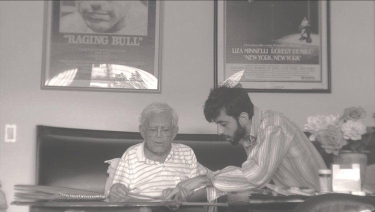 Hayk Matevosyan with his mentor, Mardik Martin